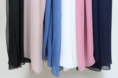 New Chiffon Hijabs in Stock