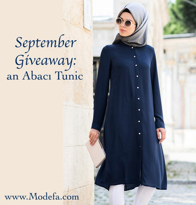 September Giveaway: Abaci Tunic