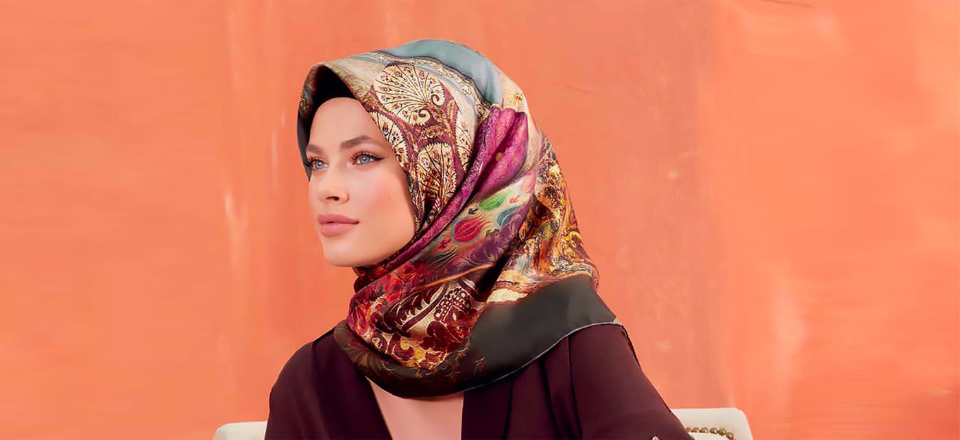 Silk Hijab Scarves