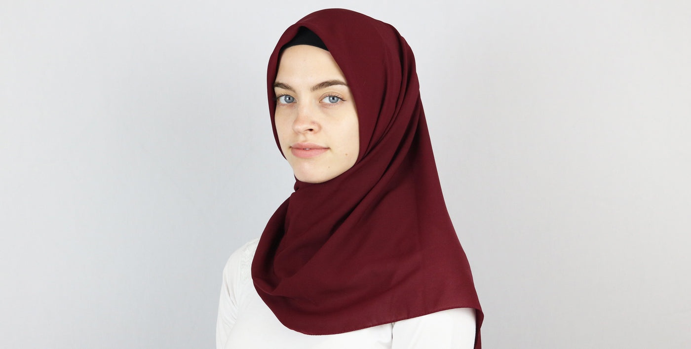Square Turkish Hijab Scarves