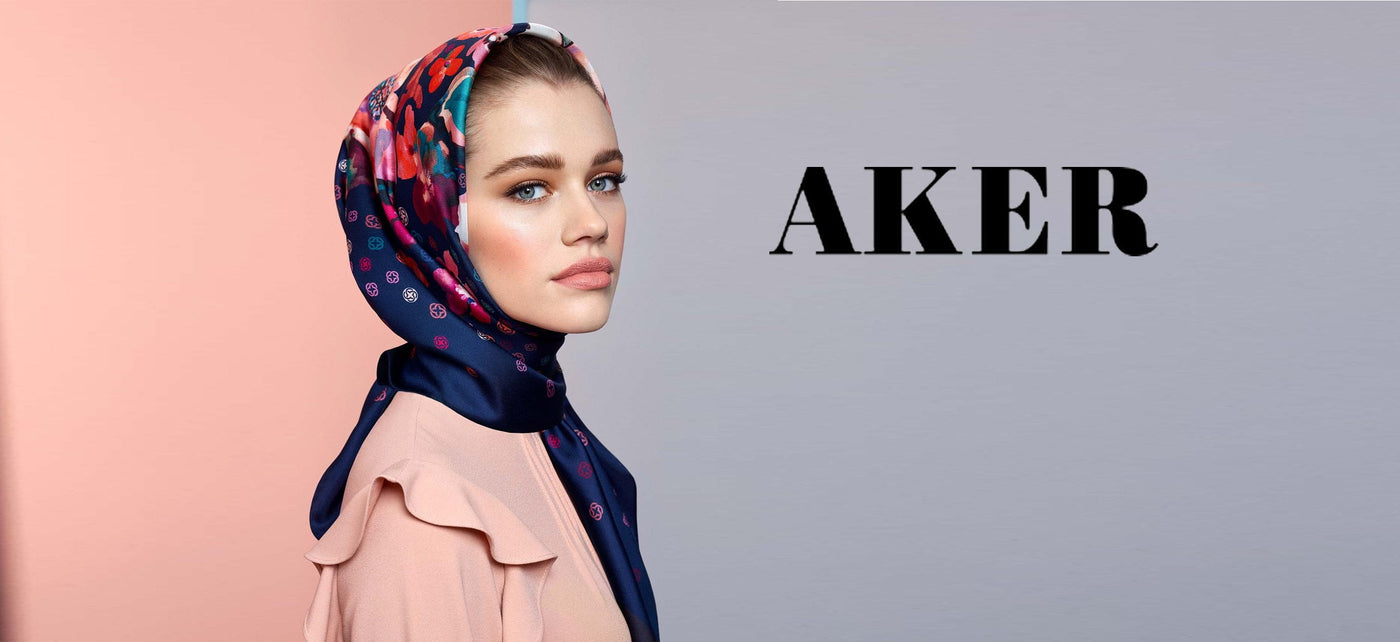 Aker Spring 2019 Turkish Silk Hijab