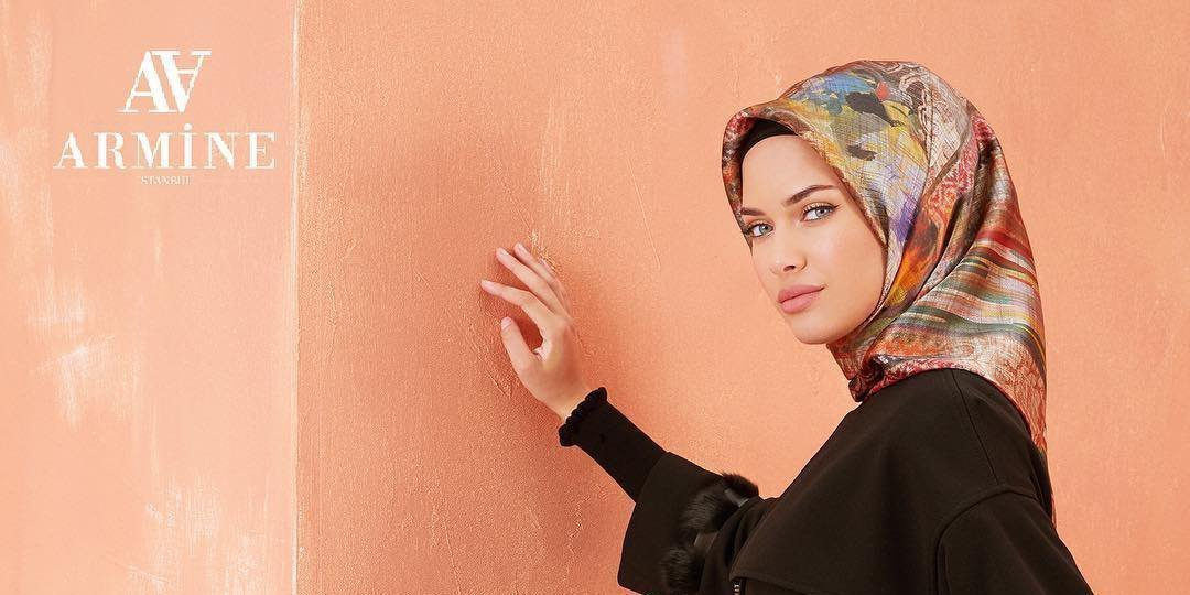 Armine Fall 2018 Turkish Silk Hijab Scarves