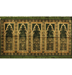 Multi Person Muslim Prayer Janamaz Carpet