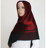 Turkish Square Hijab Thin Reversible