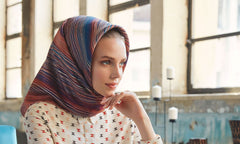 Turkish Silk Hijab Scarf