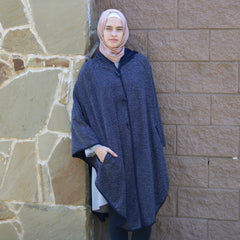 Modest Fall Fashion Poncho
