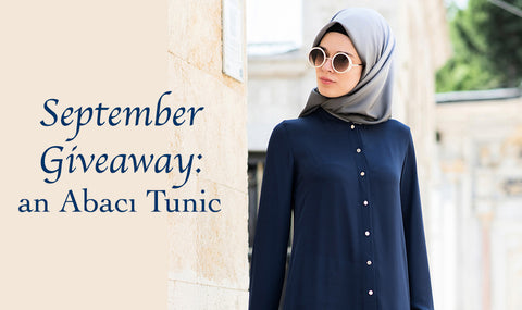 Modefa September Giveaway Abaci