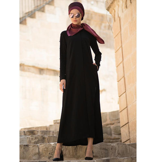 Abaci Dress Abaci Turkish Ferace Abaya F10705