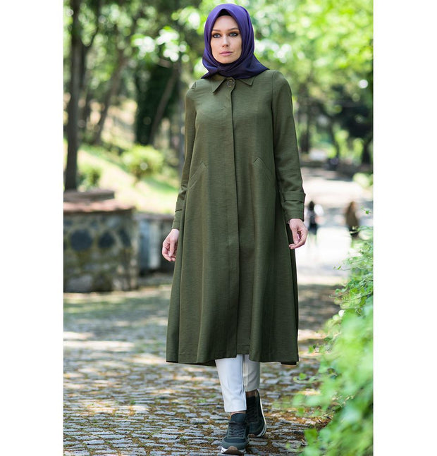 Abaci Outerwear Abaci Turkish Pardesu Topcoat K9307