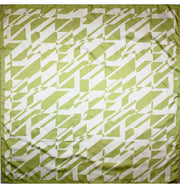 Aker scarf 90 x 90cm / Green / White Aker Satin Square Hijab Scarf 6749 951 Bright Green
