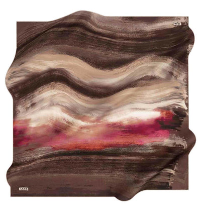 Aker scarf Aker Turkish Silk Hijab Spring/Summer 2020 #8092 Brown
