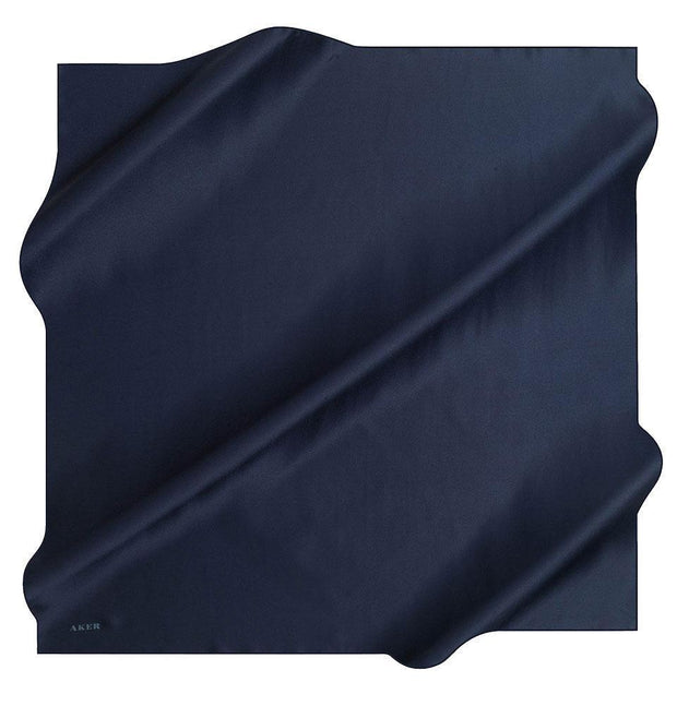 Aker scarf Navy Blue Aker Turkish Stony Silk Satin Hijab Spring/Summer 2019 #7747-321