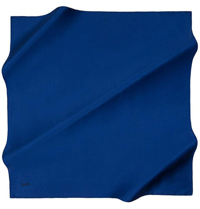 Aker scarf Blue Aker Turkish Silk Hijab Solid #6763-329