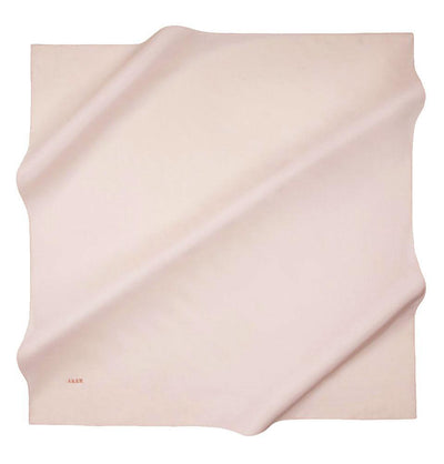 Aker Silk Cotton Square Solid Scarf #7071-464