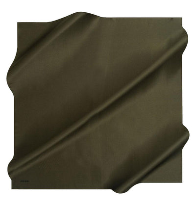 Aker scarf Olive Green Aker Turkish Stony Silk Satin Hijab Fall 2019 #7747-351