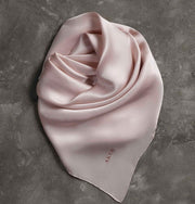 Aker scarf Pink Sand Aker Turkish Stony Silk Satin Hijab Fall 2019 #7747-393
