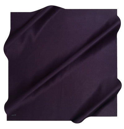 Aker scarf Purple Aker Turkish Stony Silk Satin Hijab Fall 2019 #7747-394
