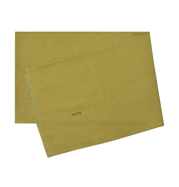 Aker Shawl 67 x 200cm / Olive Green Aker Solid Silk Cotton Thin Summer Hijab Shawl # 452
