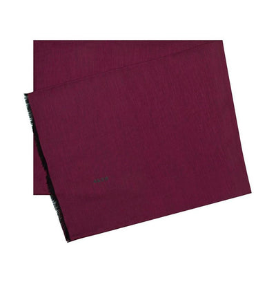 Aker Shawl 75 x 200cm / Burgundy Aker Silk Cotton Thin Summer Hijab Shawl #7070-495