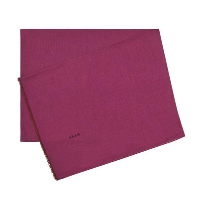 Aker Shawl 75 x 200cm / Dark Pink Aker Silk Cotton Thin Summer Hijab Shawl # 7070-493