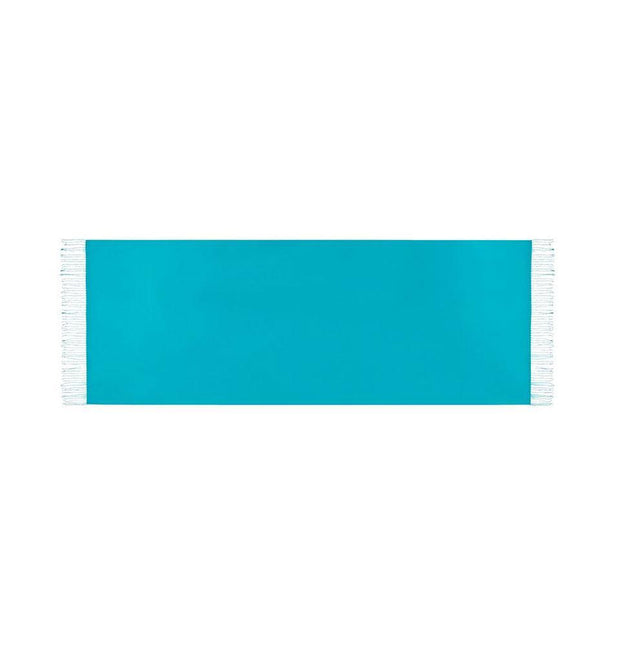 Aker Double-Sided Silk Hijab Shawl #053 - Turquoise