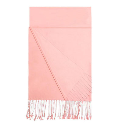 Aker Shawl Aker Double-Sided Silk Hijab Shawl #388 - Pink