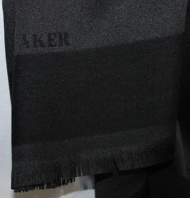 Aker Shawl Black / 70 x 180cm Aker Solid Shawl 1002SLK Black