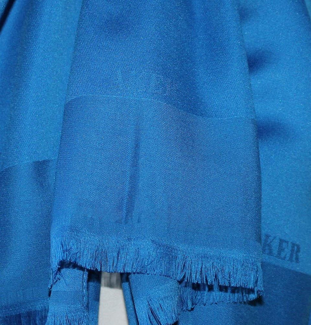 Aker Shawl Blue / 70 x 180cm Aker Solid Shawl 1002SLK-924 Bright Blue