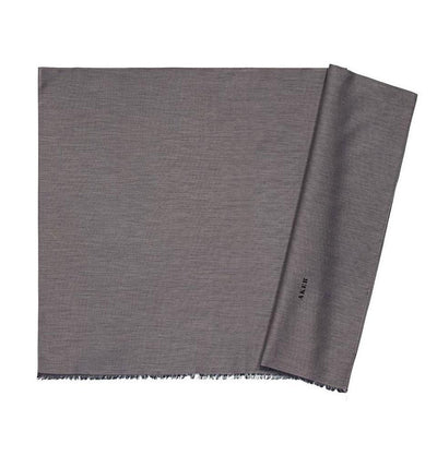 Aker Shawl Grey Aker Solid Silk Cotton Thin Summer Hijab Shawl Fringed #7070-474