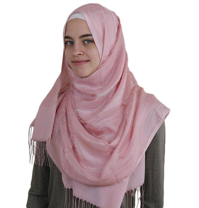 Aker Shawl Light Pink Aker Torba Hijab Wrap Shawl Light Pink 991