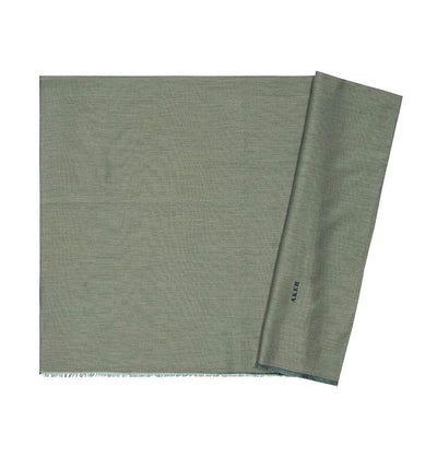 Aker Shawl Sage Green Aker Solid Silk Cotton Thin Summer Hijab Shawl Fringed #7070-455