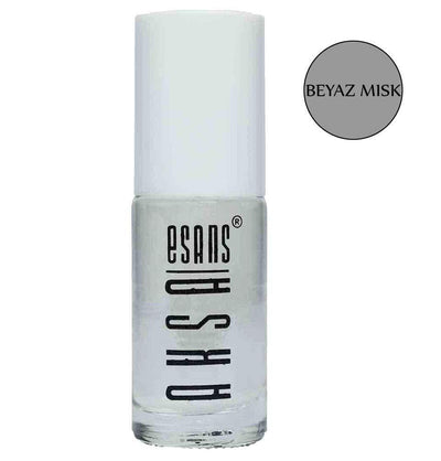 Aksa Esans Perfume Alcohol Free Roll On Perfume Oil For Men & Women - Beyaz Misk