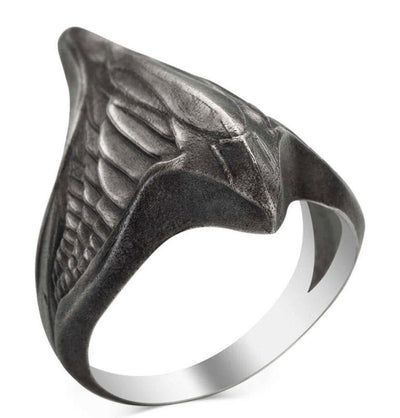 Men's Sterling Silver Licensed Ertugrul Ring
