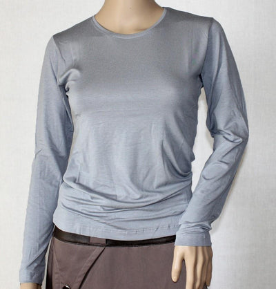 Arancia Body Arancia Modest Plain Jersey Undershirt - Grey