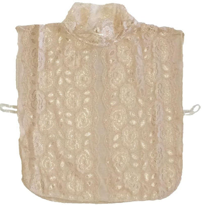 Arancia Neck cover Beige Arancia Lace Dickey Modest Neck Cover - Beige