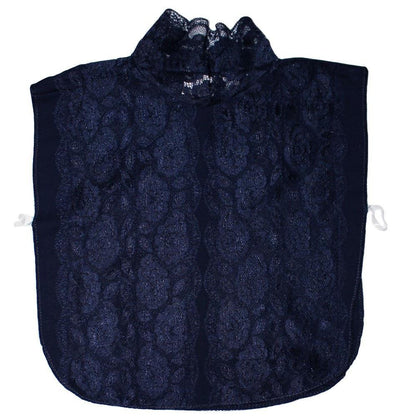 Arancia Neck cover Blue Arancia Lace Dickey Modest Neck Cover - Blue