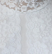 Arancia Neck cover Arancia Lace Neck Cover - White - Modefa
