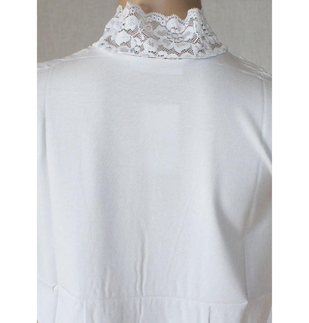 Arancia Neck cover White Arancia Lace Dickey Modest Neck Cover - White