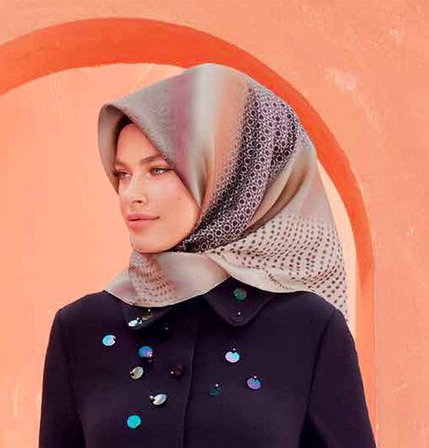 Armine Turkish Silk Hijab Scarf Fall 2018 #8029