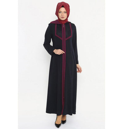 Etem Temur Dress Turkish Ferace Abaya ET-2145 - Modefa
