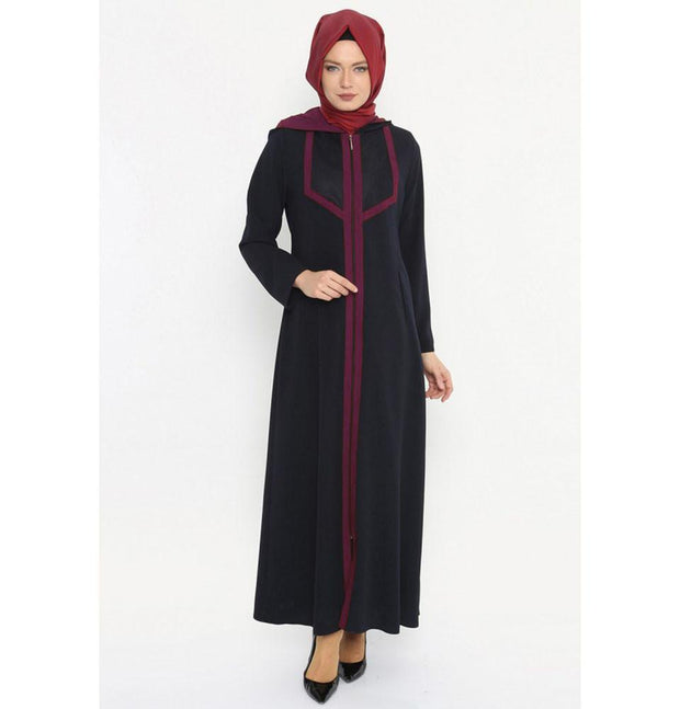 Etem Temur Dress Turkish Ferace Abaya ET-2145