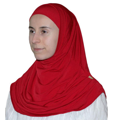 Firdevs Amirah hijab Bright Red Firdevs Practical Amira Hijab Bright Red