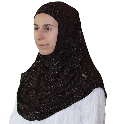 Firdevs Amirah hijab Brown Firdevs Practical Amira Hijab Brown Raindrop