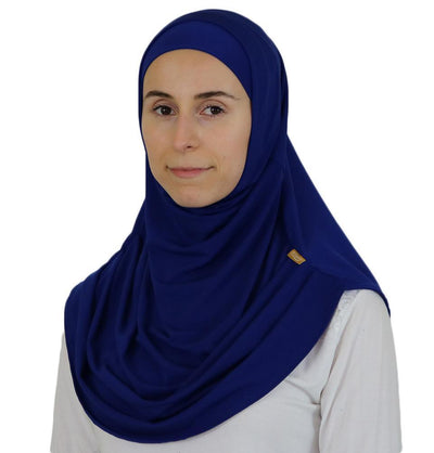 Firdevs Amirah hijab Royal Blue Firdevs Practical Amira Hijab Royal Blue