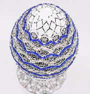 Islamic Table Decor White Egg - 99 Names of Allah 1674