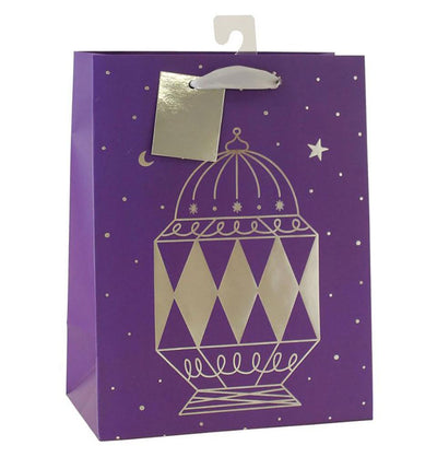 Hello Holy Days Hello Holy Days Foil Lantern Gift Bag - Medium