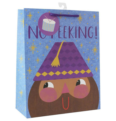 Hello Holy Days Hello Holy Days No Peeking Gift Bag - Large
