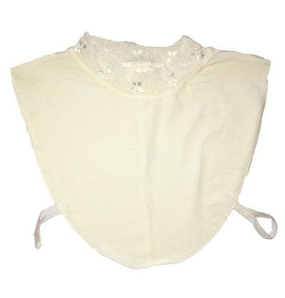 Hurrem Neck cover Ivory Hurrem Ivory Neck Cover with Lace (Boyunluk)