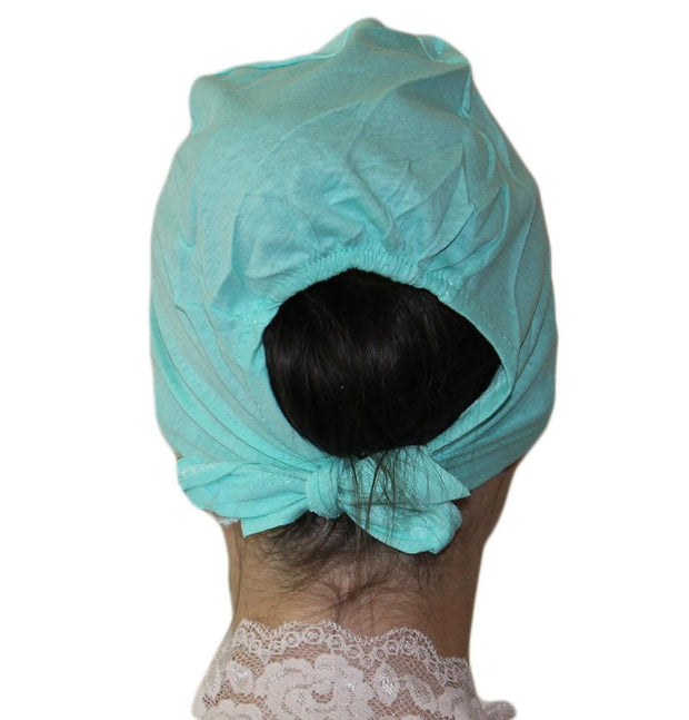 Ipekce Underscarf Mint Green Cotton Hijab Bonnet Underscarf - Mint