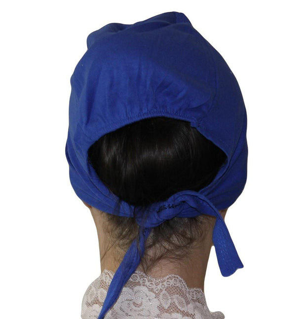 Ipekce Underscarf Royal Blue Cotton Hijab Bonnet Underscarf - Royal Blue